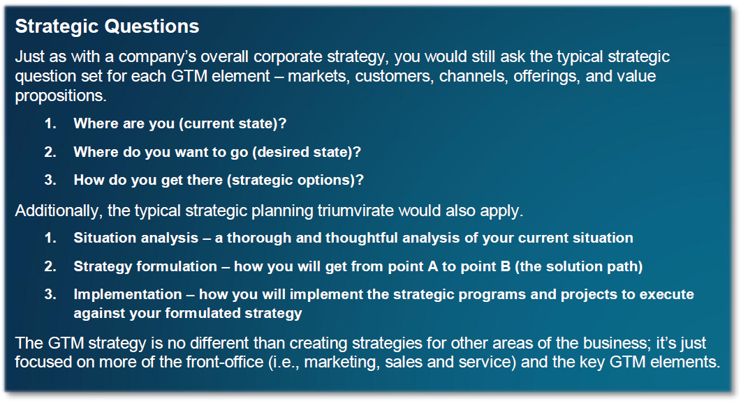 A Go To Market Strategy Primer Symmetrics Group